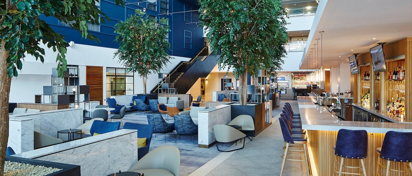 Lobby at London Heathrow Marriott