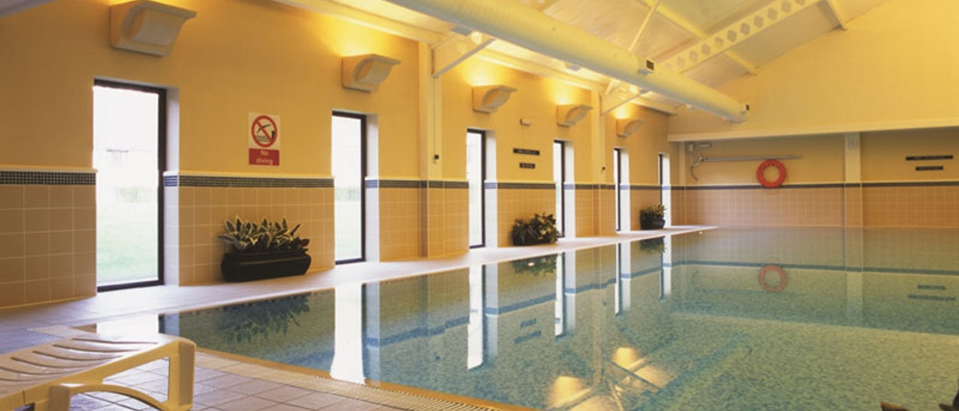 Swimming pool at De Vere Wokefield Estate