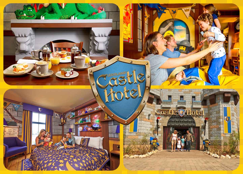 The LEGOLAND Castle Hotel at LEGOLAND Windsor Resort