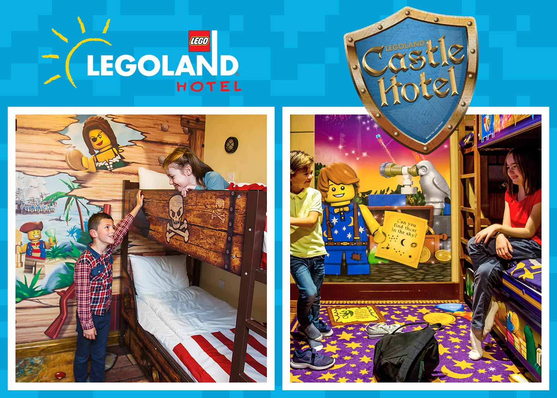 Resort accommodation at the LEGOLAND Windsor Resort