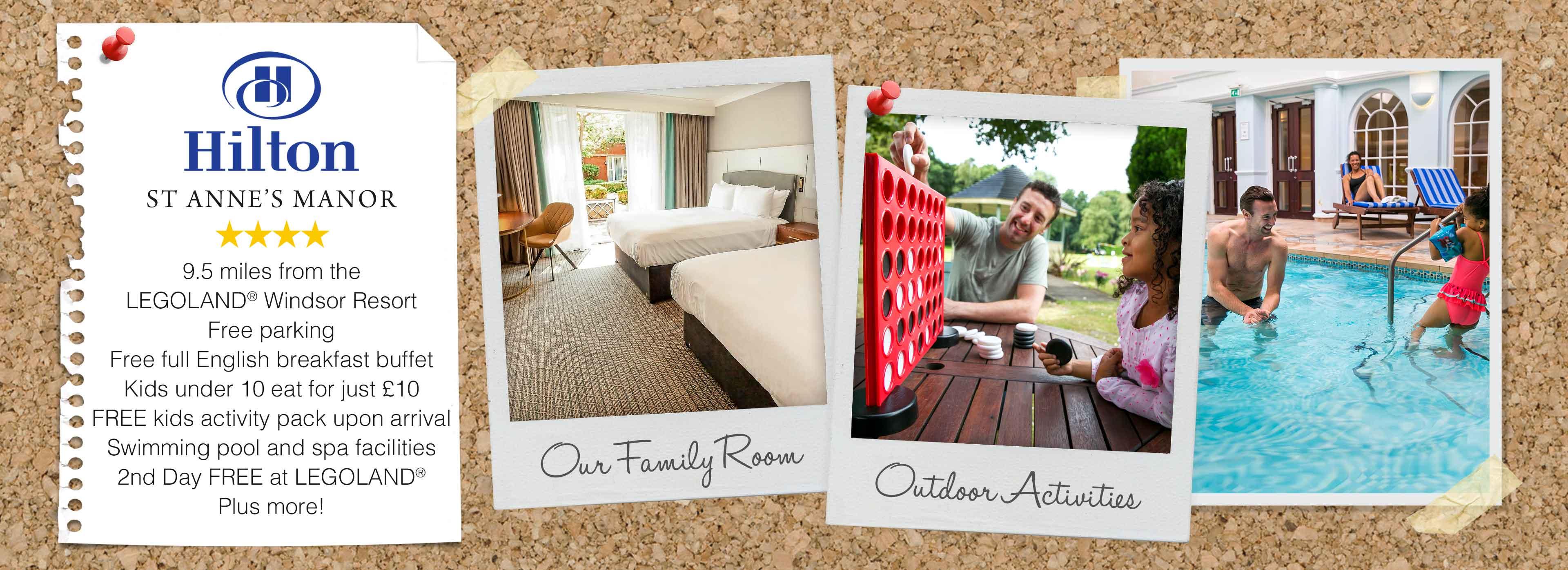 Hilton St Annes Manor Hotel