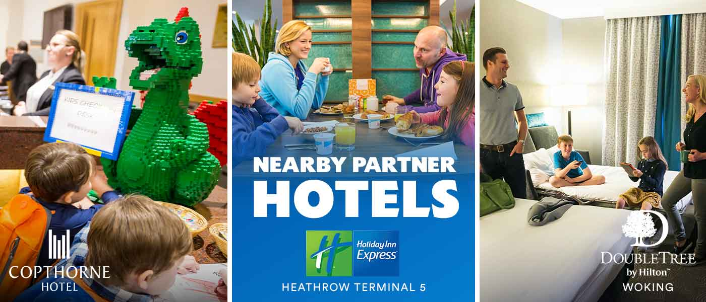 Nearby Hotel breaks with LEGOLAND<sup>®</sup> Holidays