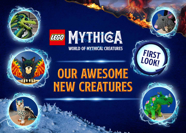 LEGO MYTHICA at the LEGOLAND Windsor Resort