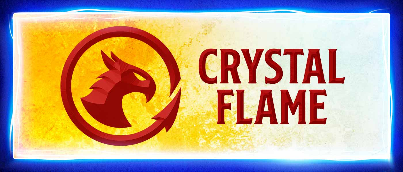 Crystal Flame: Fire and Ice Bird at LEGO: MYTHICA