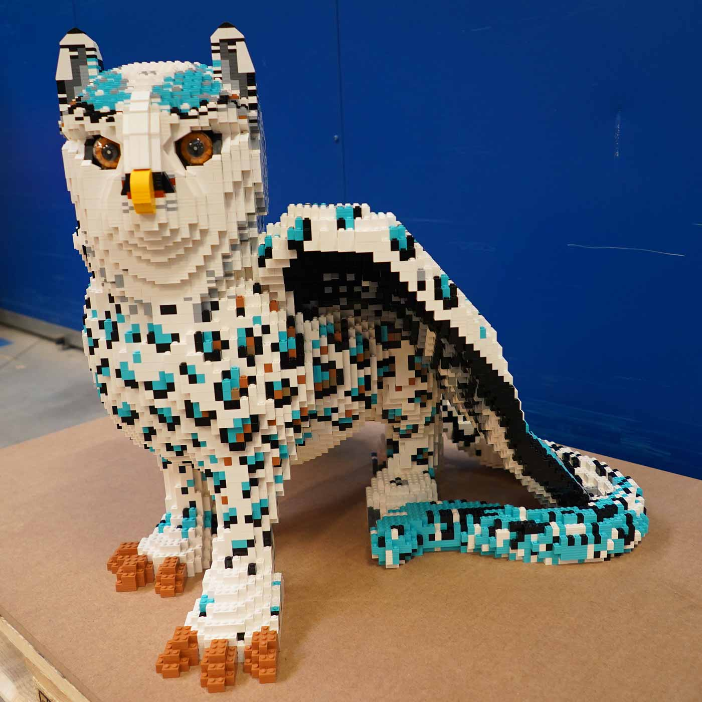 Owl Leopard for LEGO MYTHICA: World of Mythical Creatures