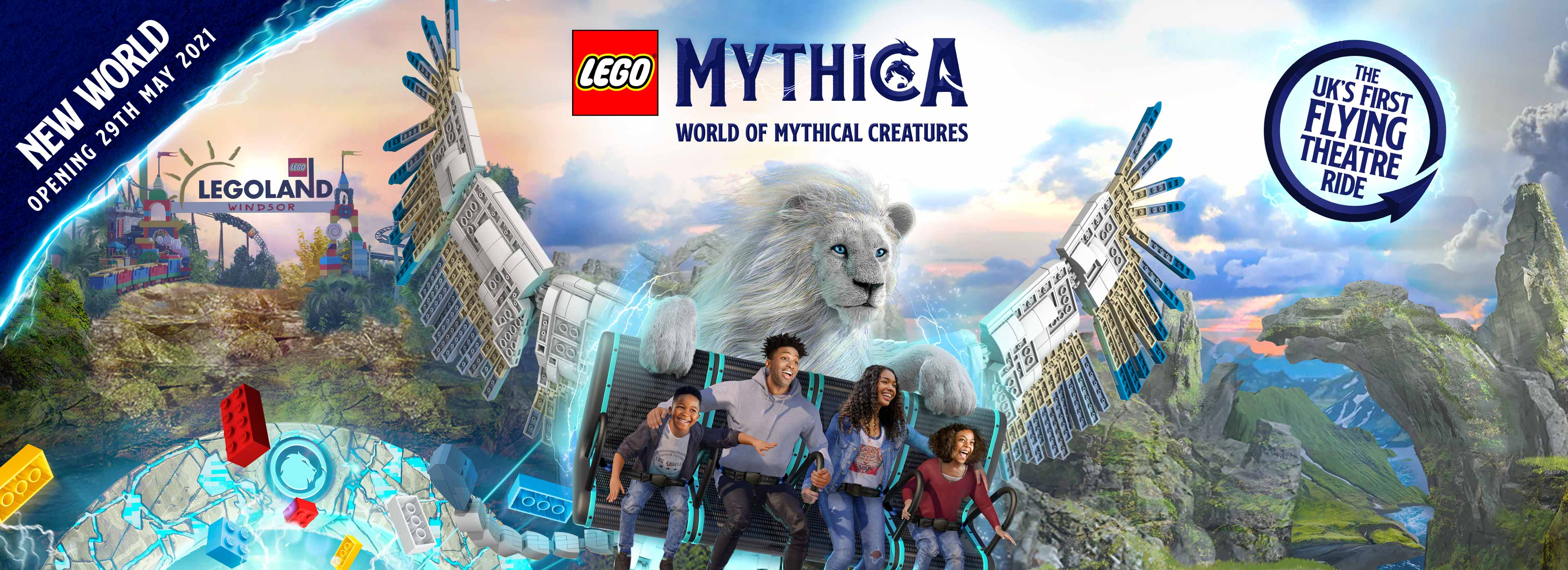 Brand new land, Mythica: World of Mythical Creatures at the LEGOLAND Windsor Resort