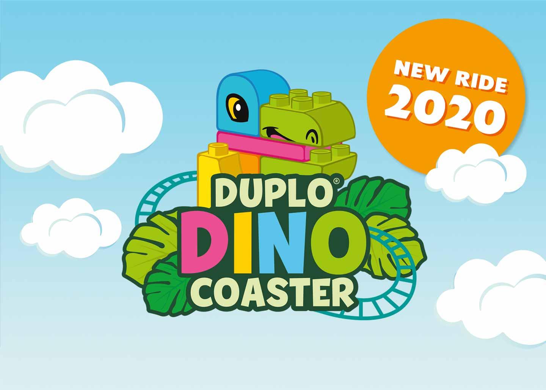 DUPLO Dino Coaster at LEGOLAND Windsor Resort
