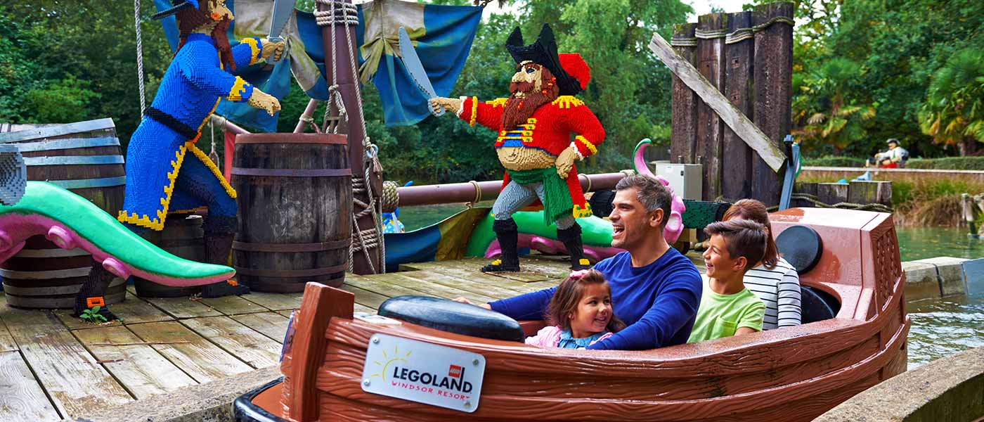 Pirate Shores at LEGOLAND Windsor Resort