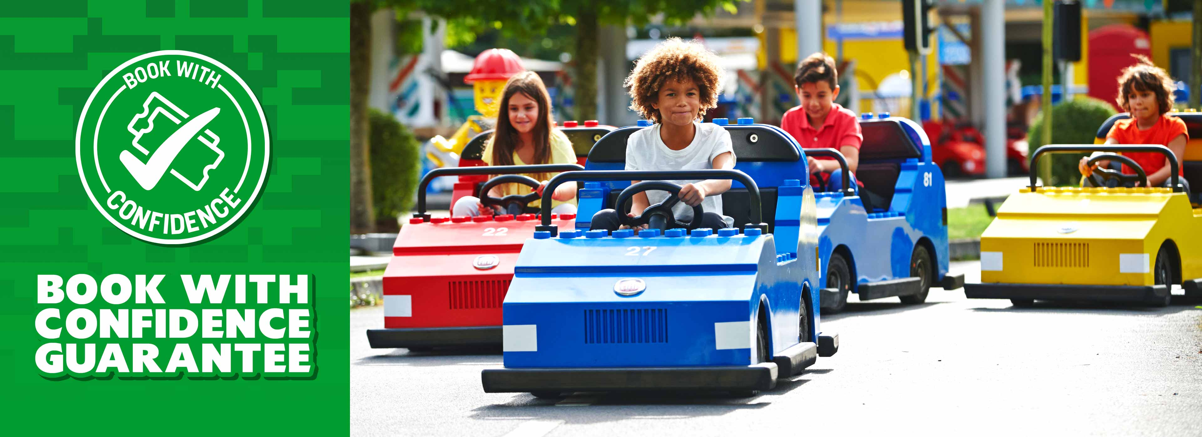 Book with confidence guarantee with LEGOLAND Holidays