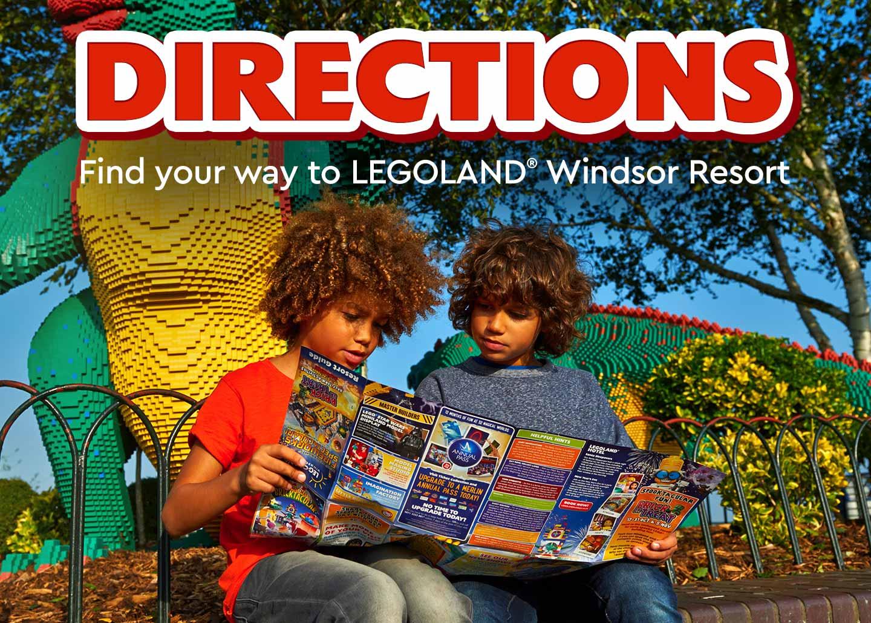 Directions to LEGOLAND<sup>®</sup> Windsor Resort