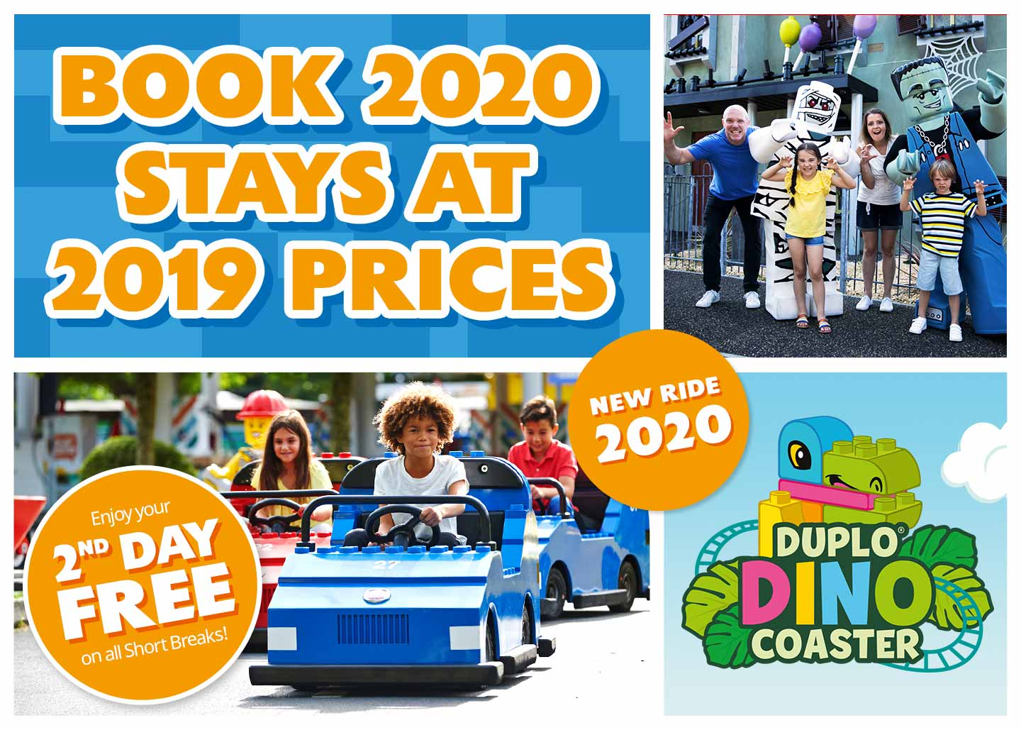 2020 short breaks at LEGOLAND Windsor Resort