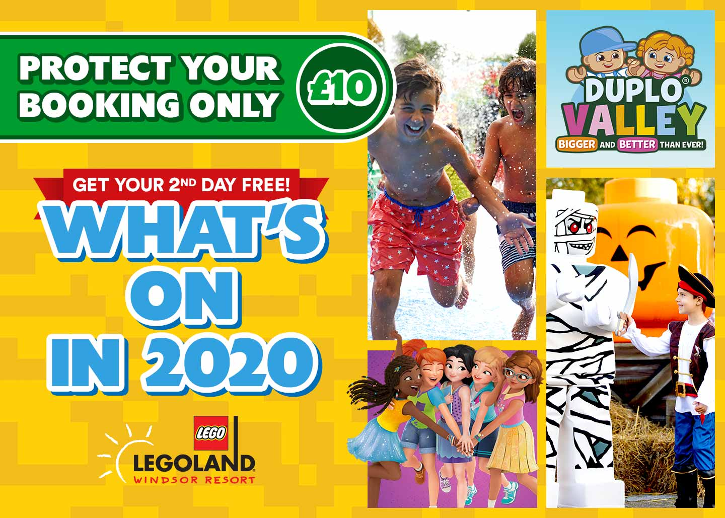 Whats new for 2020 at LEGOLAND<sup>®</sup> Windsor Resort