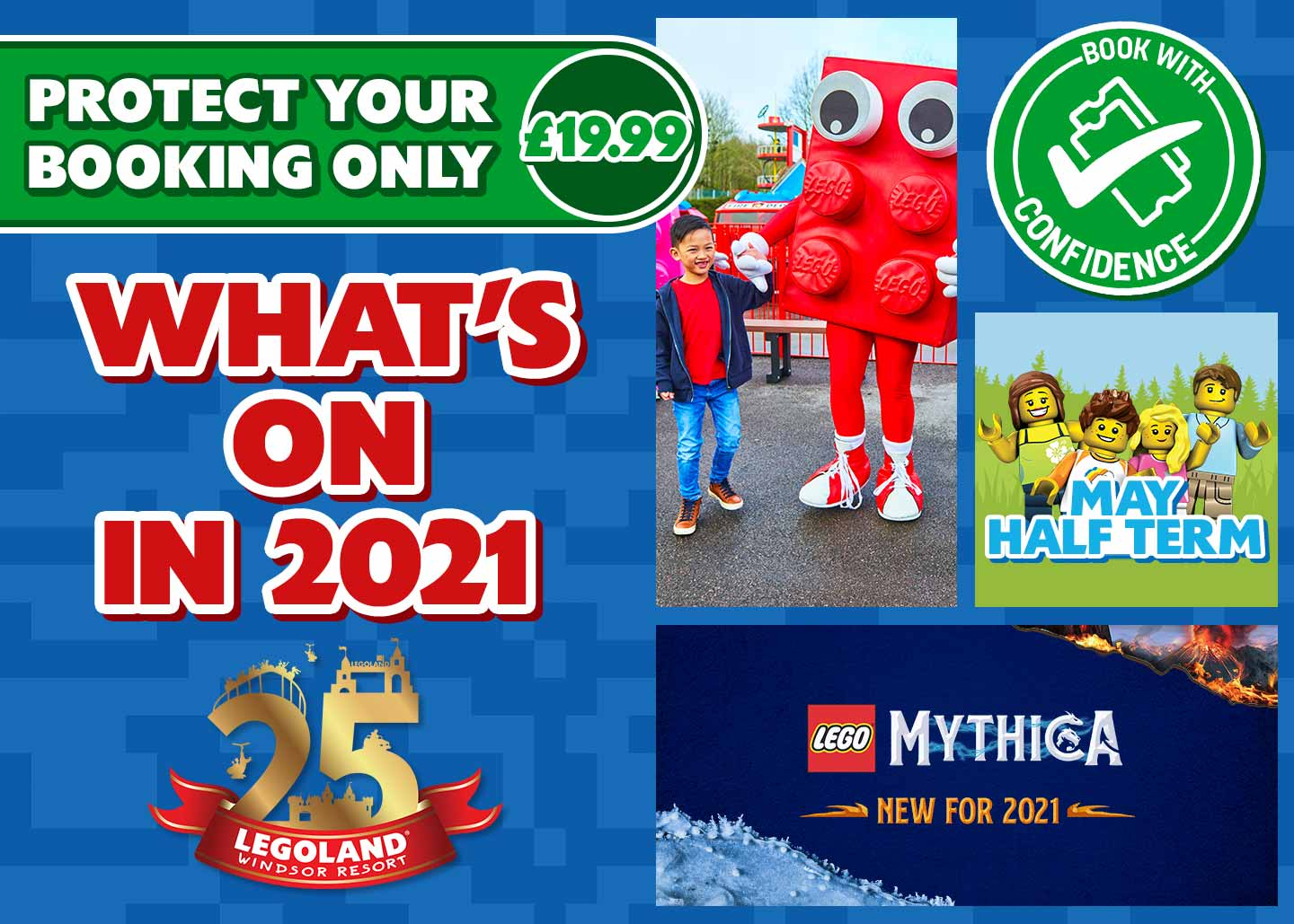 2021 short breaks to the LEGOLAND Windsor Resort