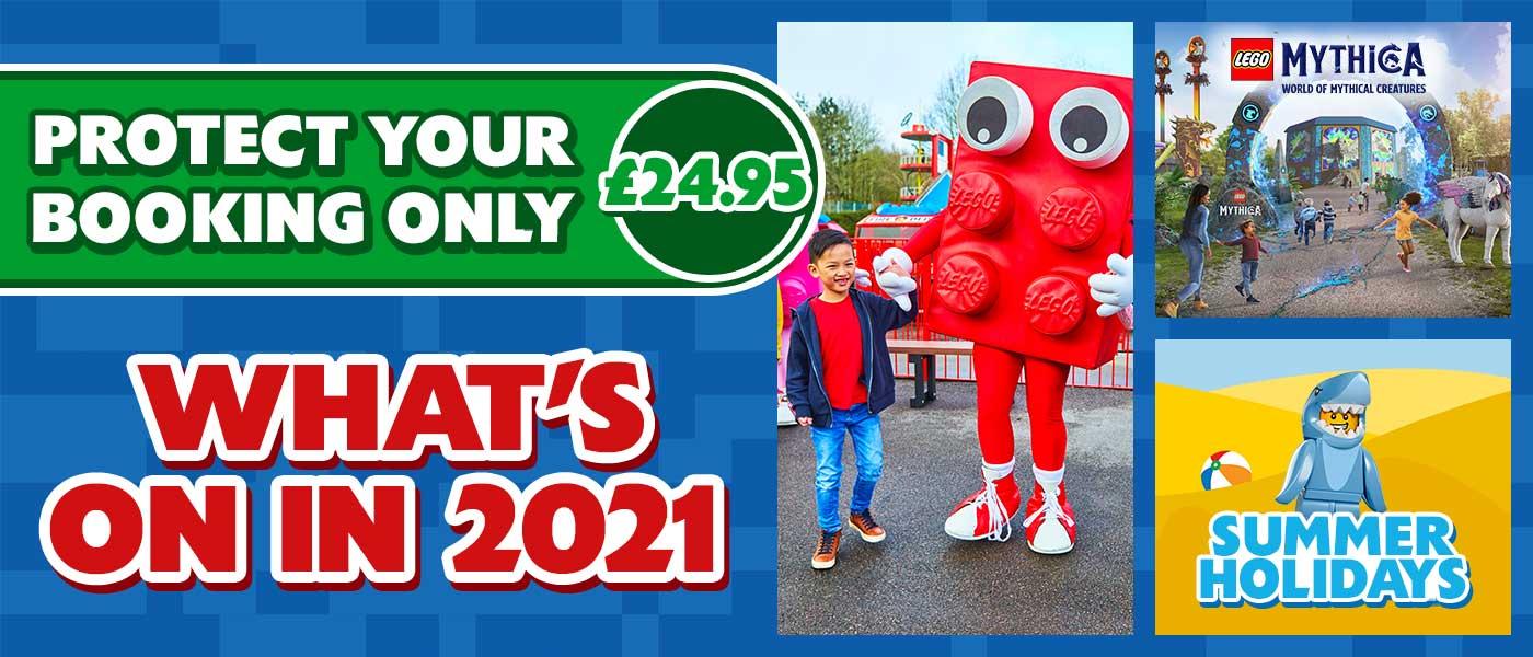 2021 at Legoland Windsor Resort