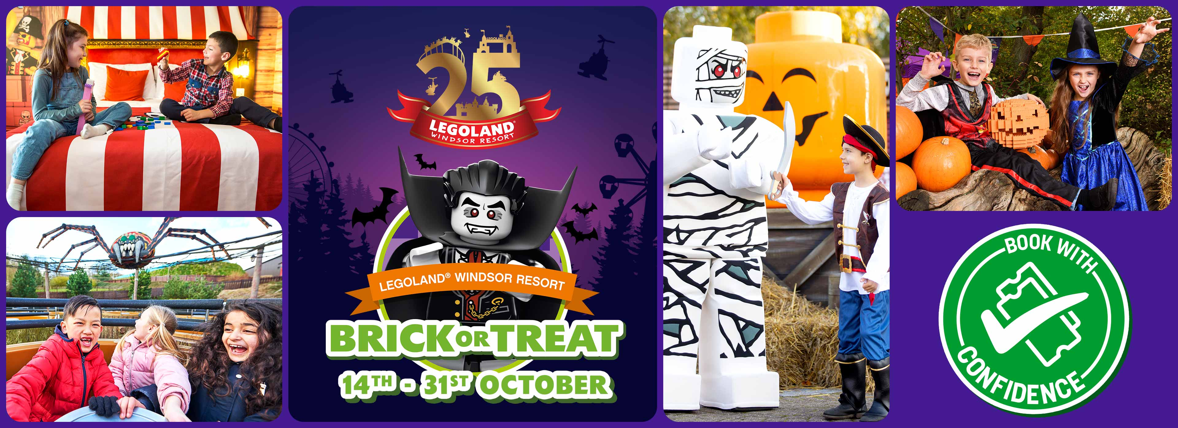 Brick or treat Halloween event at the LEGOLAND Windsor Resort