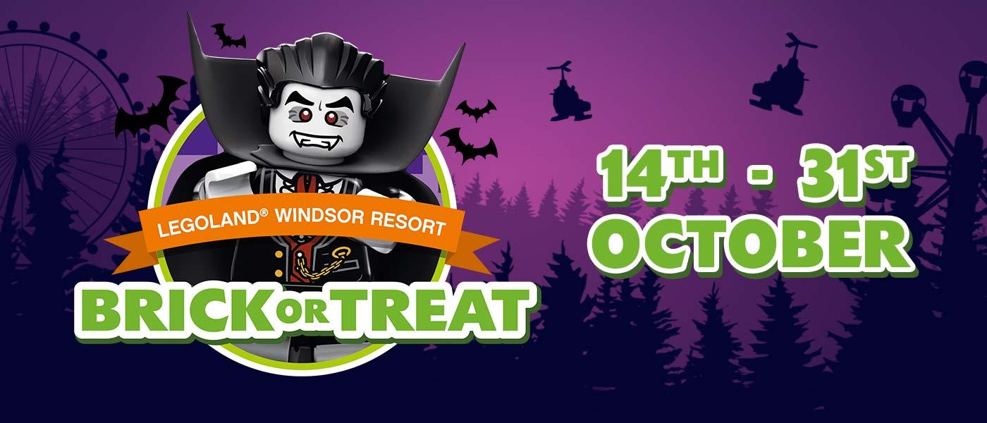 Brick or Treat Halloween event at LEGOLAND Windsor Resort