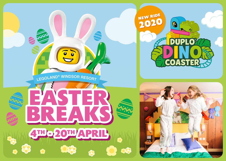 2020 Easter Holidays at LEGOLAND Windsor Resort