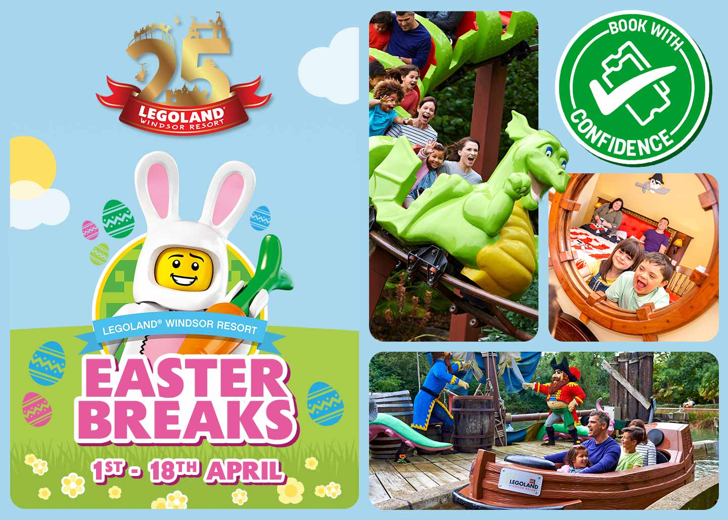 2021 Easter Staycations at LEGOLAND Windsor Resort