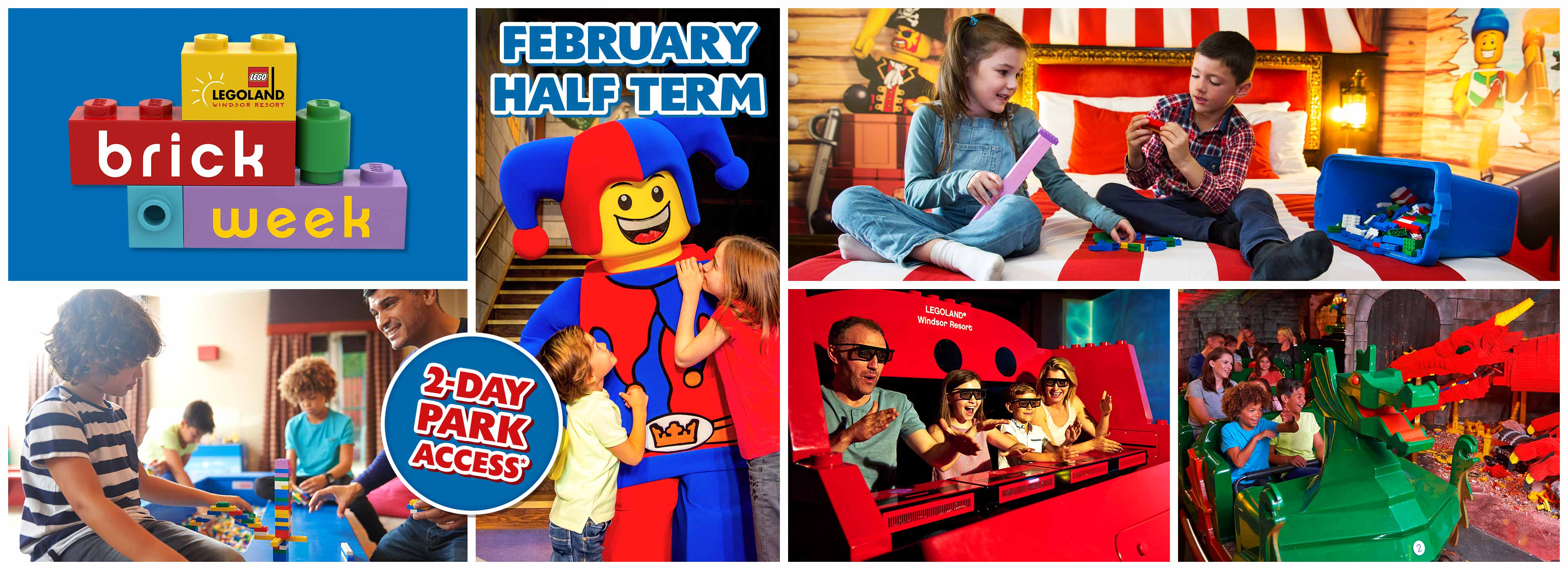 Feb Half Term with LEGOLAND Holidays