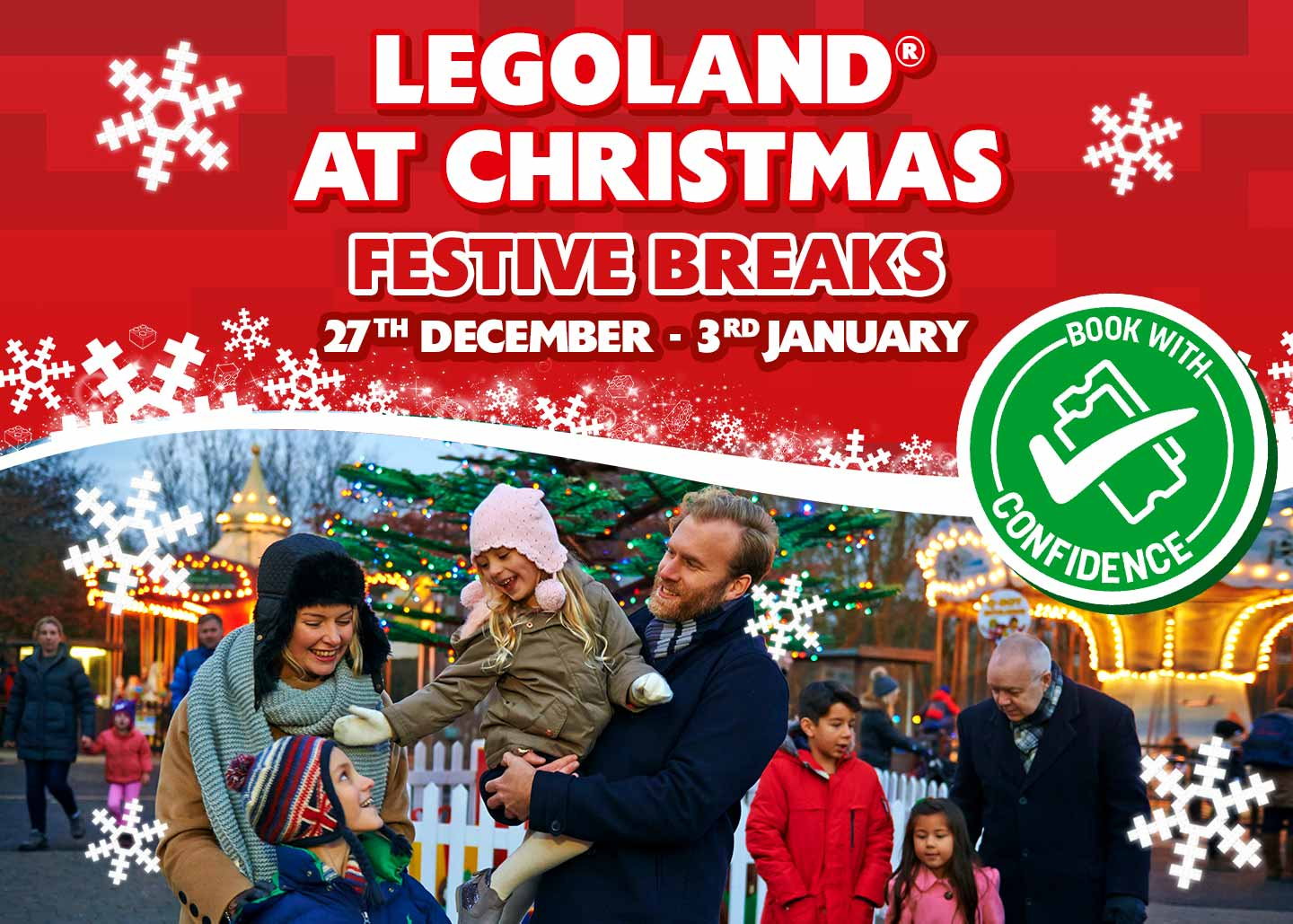 LEGOLAND at Christmas with LEGOLAND Holidays