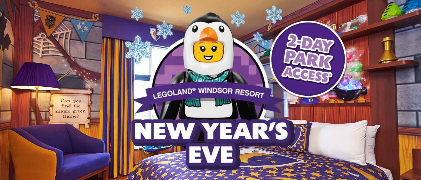 New Years Eve at LEGOLAND Windsor Resort
