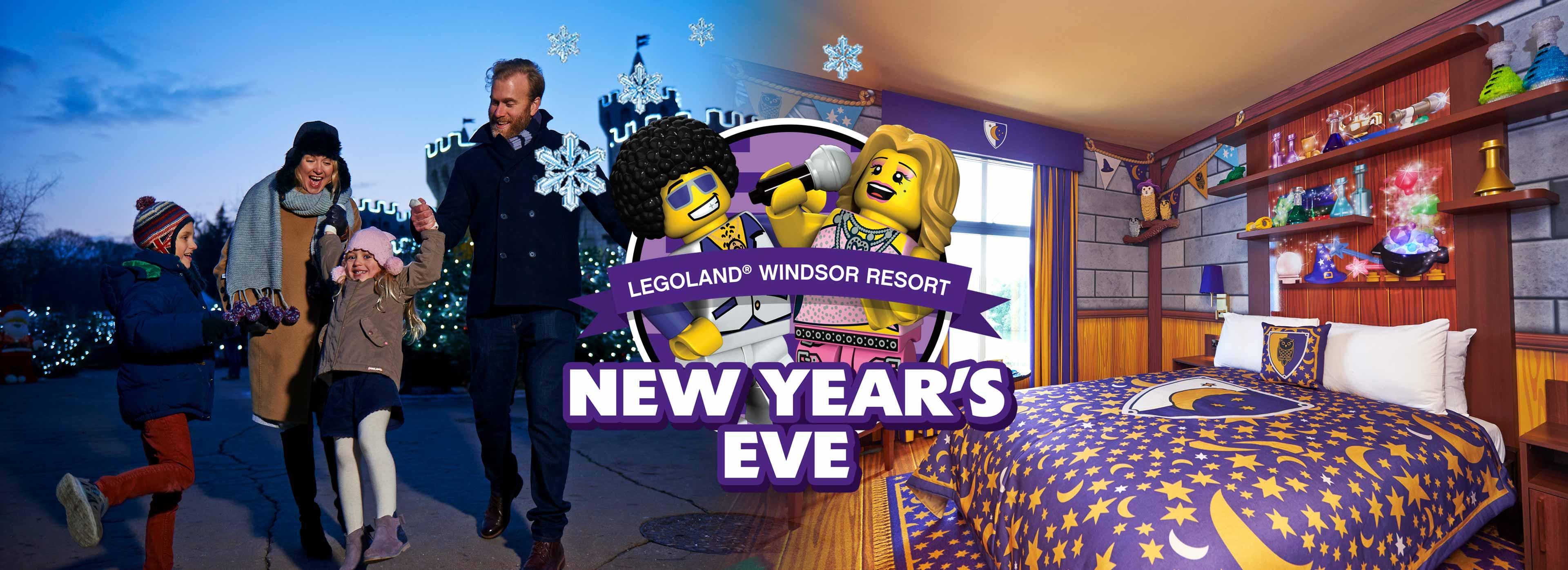 Book your family's LEGOLAND Windsor Resort New Year's Eve short break today!