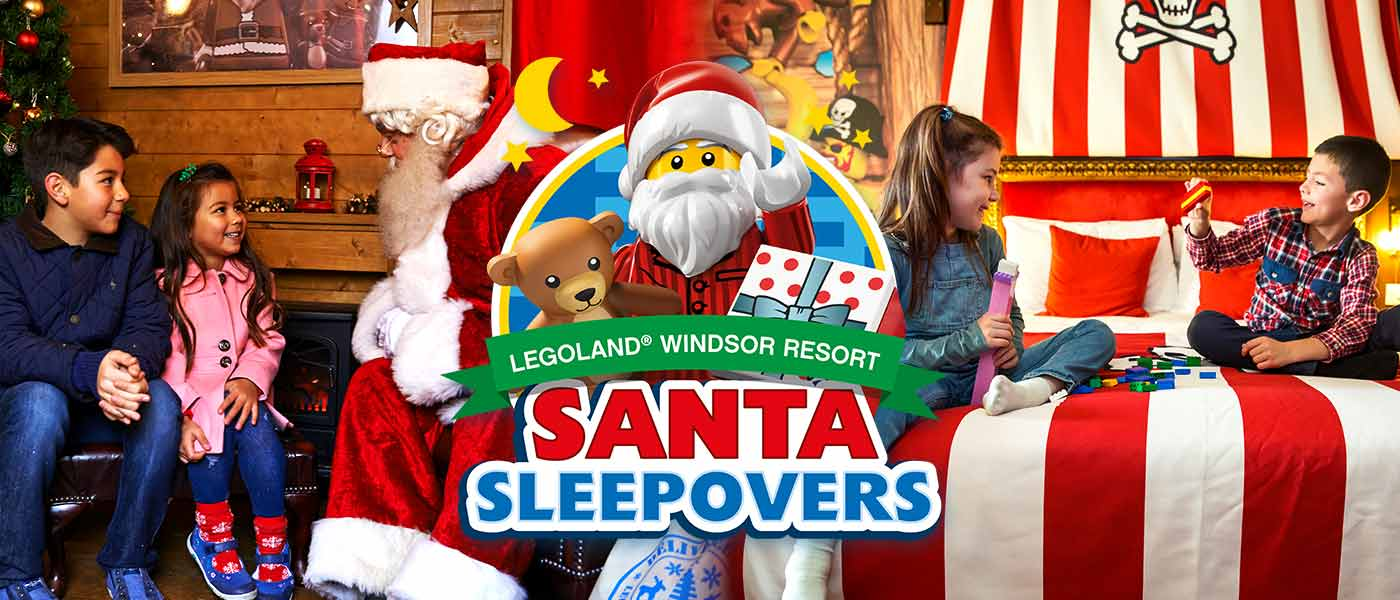 Santa Sleepovers at LEGOLAND Windsor Resort
