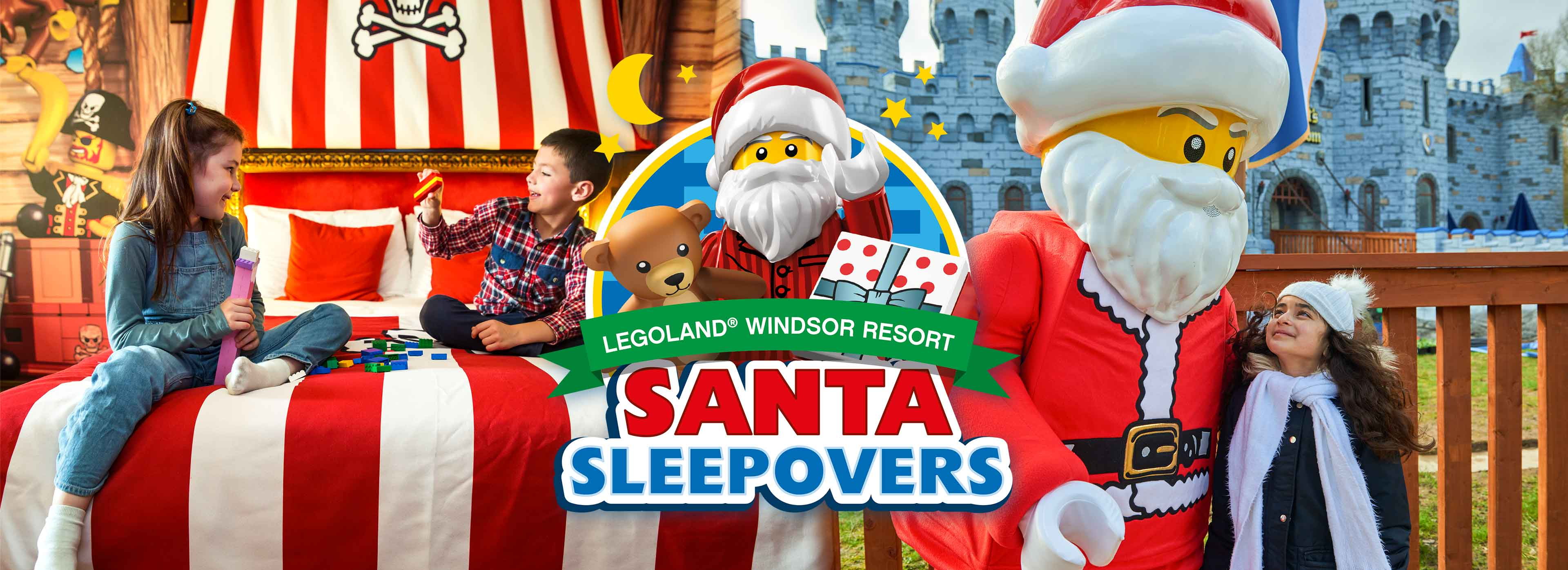 Santa Sleepover 2020 at LEGOLAND Windsor Resort