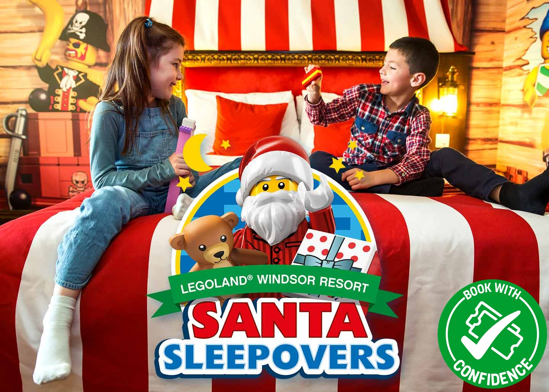 Santa Sleepover 2021 at LEGOLAND Windsor Resort