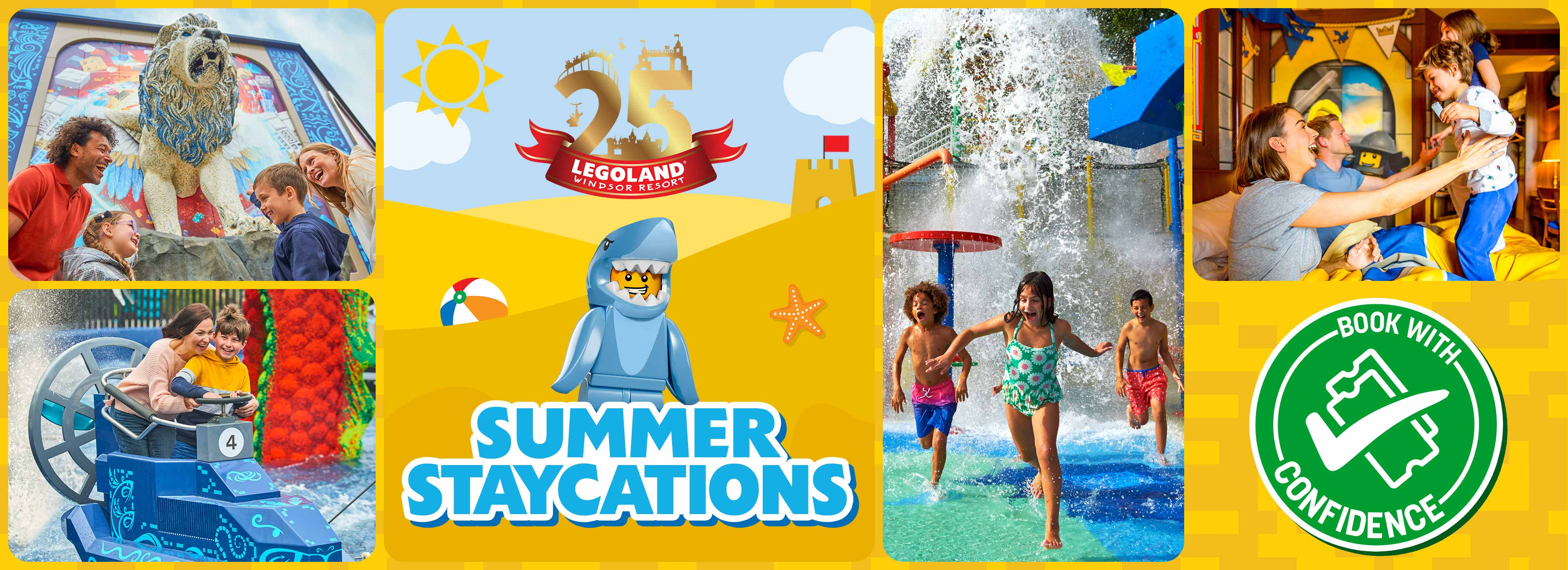 Summer Staycation Sale on stays at nearby hotels with LEGOLAND Windsor Resort Holidays