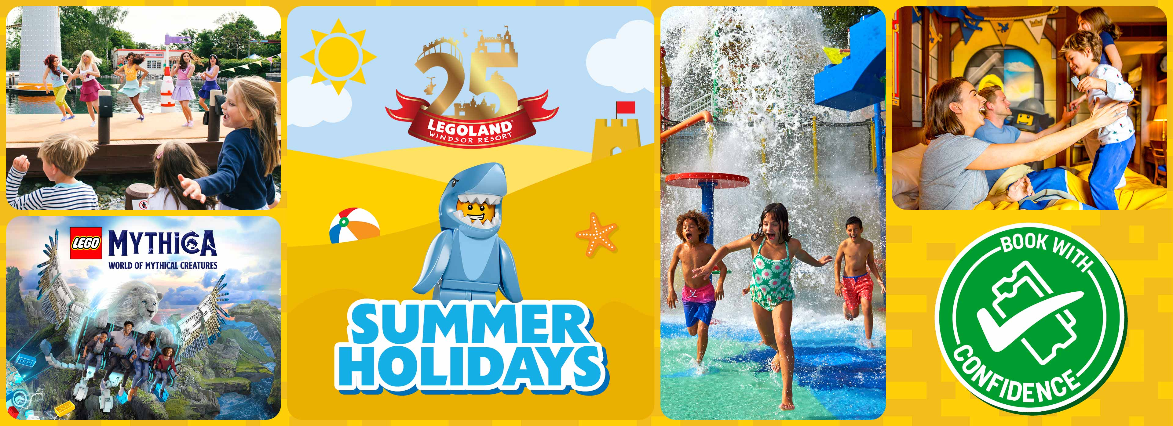 Summer Holidays at LEGOLAND Windsor Resort
