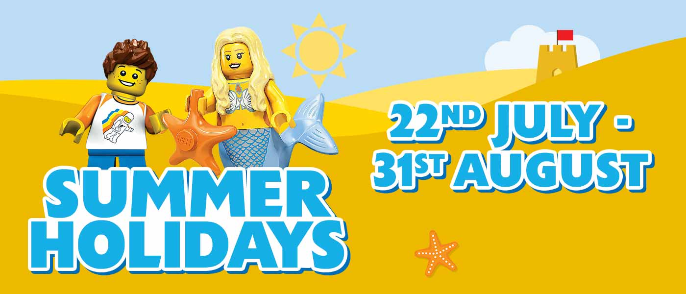 Book your summer break at LEGOLAND<sup>®</sup> Windsor Resort