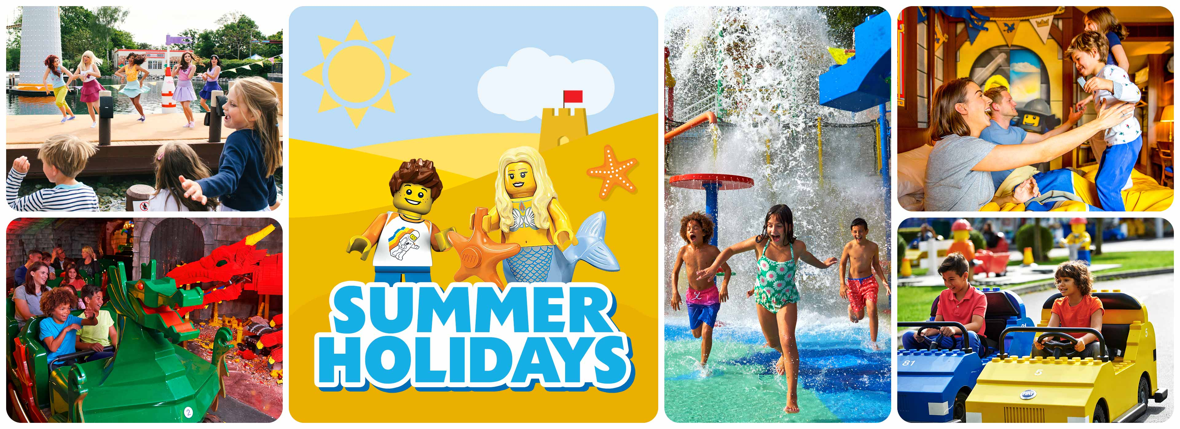 Summer holiday breaks at LEGOLAND Windsor Resort