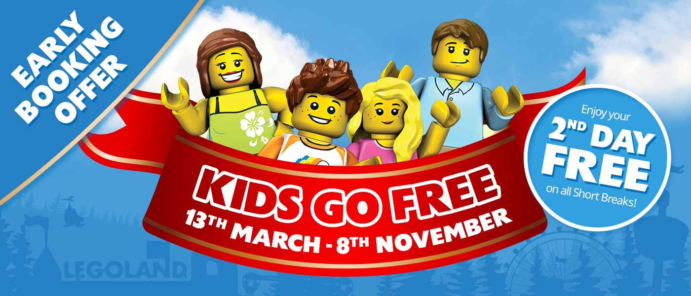 Kids Go FREE at LEGOLAND Windsor Resort