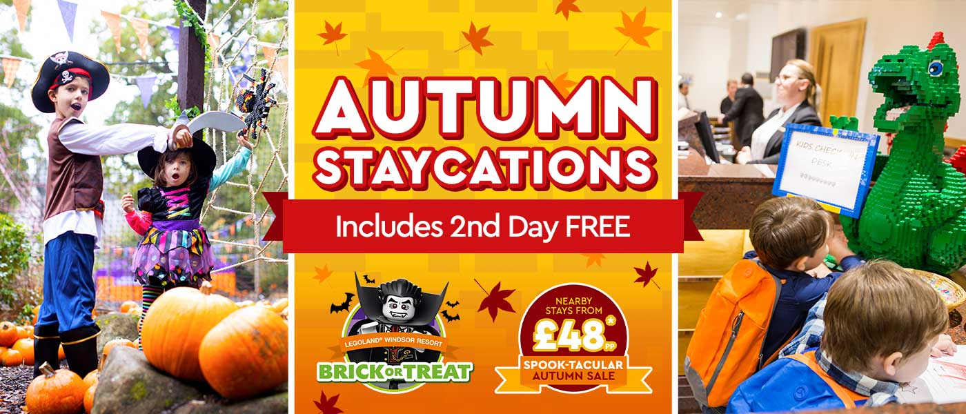 Autumn Sale with at LEGOLAND<sup>®</sup> Holidays