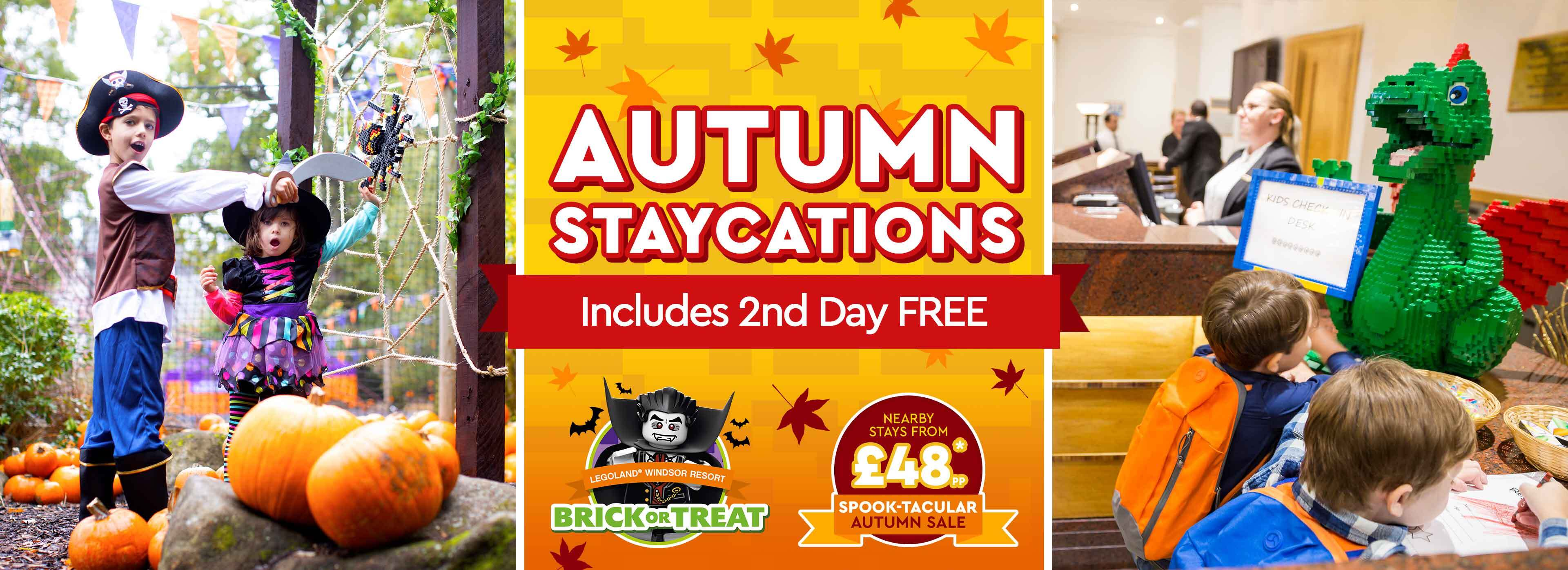 Spook-tacular Autumn Sale with LEGOLAND Holidays