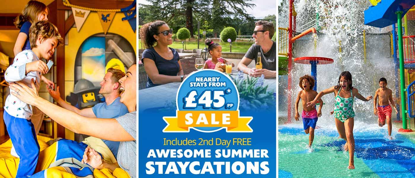 Book your summer break at LEGOLAND<sup>®</sup> Windsor Resort