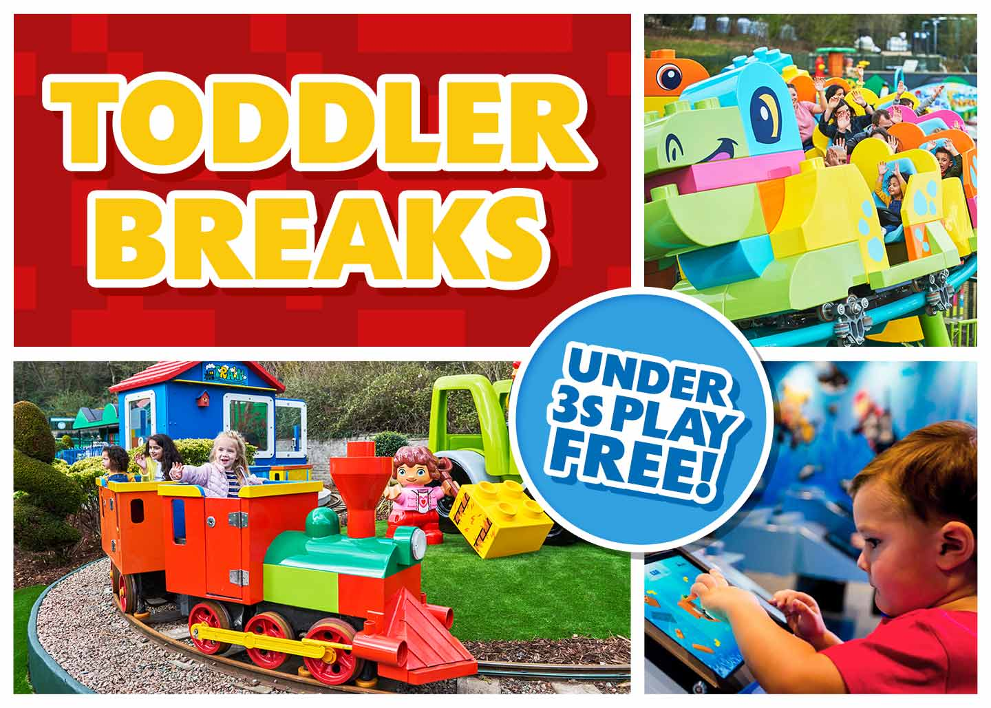 Toddler breaks at LEGOLAND® Windsor Resort